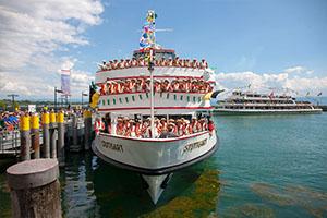 Seehasenfest FN Zuschauerschiff